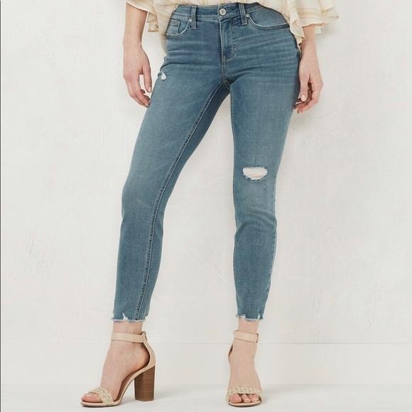 LC Lauren Conrad Denim - LC Lauren Conrad Feel Good Skinny Ankle Jeans NWT